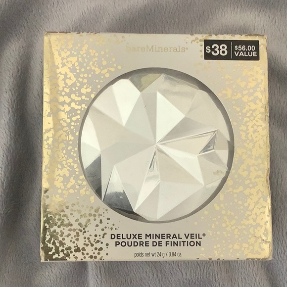 NEW bare minerals deluxe mineral veil powder SE